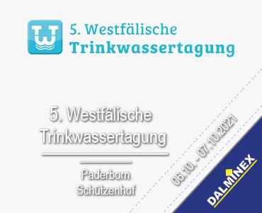 5. Westfälische Trinkwassertagung