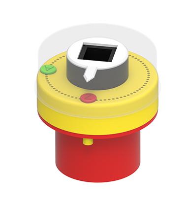 Positionsanzeiger aus Kunststoff - gelb Produktübersicht